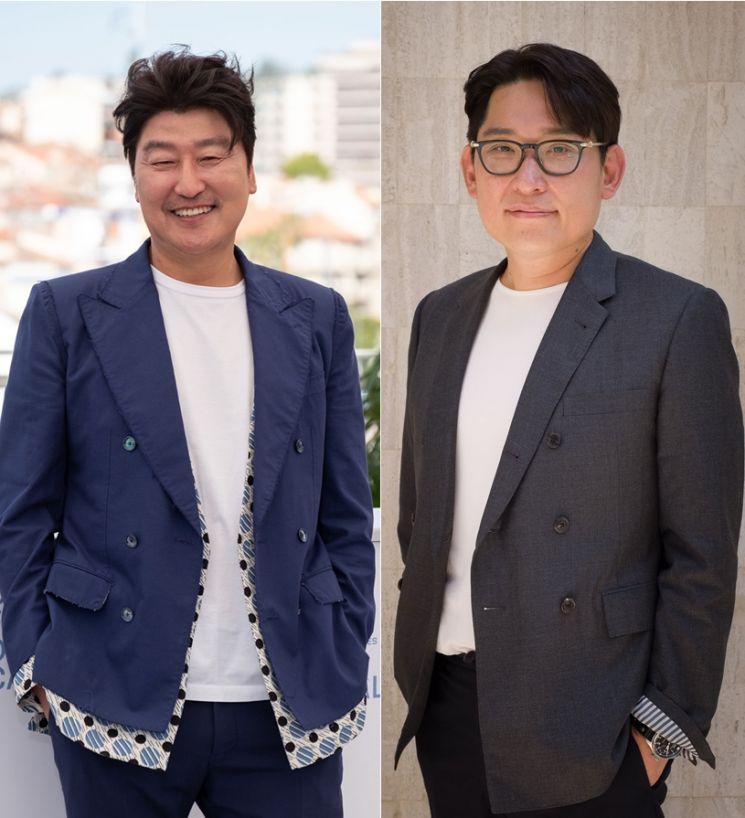 송강호 한재림감독/사진=쇼박스