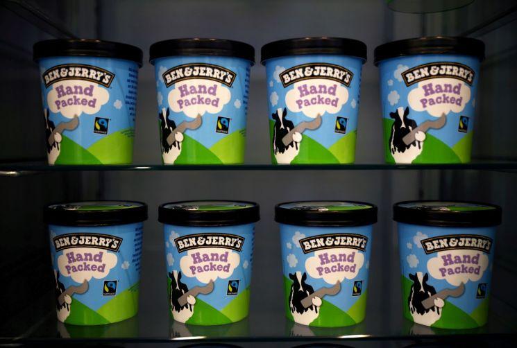 유니레버의 아이스크림 브랜드 벤앤제리스  [사진 제공= 로이터연합뉴스]