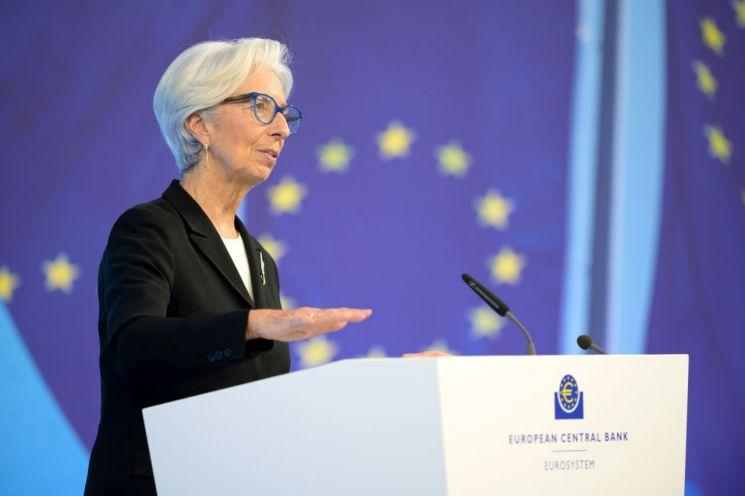 크리스틴 라가르드 유럽중앙은행(ECB) 총재 [이미지출처=연합뉴스]