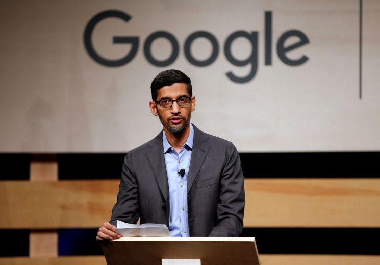 ▲순다르 피차이 구글 CEO [이미지출처=로이터연합뉴스]