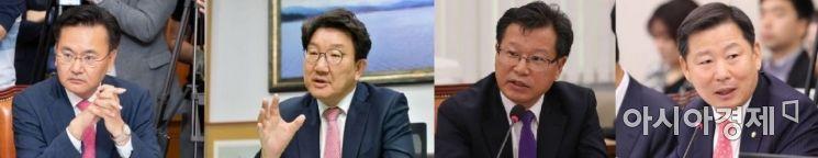 국민의힘 강원지역구 국회의원 (사진 왼쪽부터 유상범·권성동·이양수·이철규 의원) [아시아경제 DB]