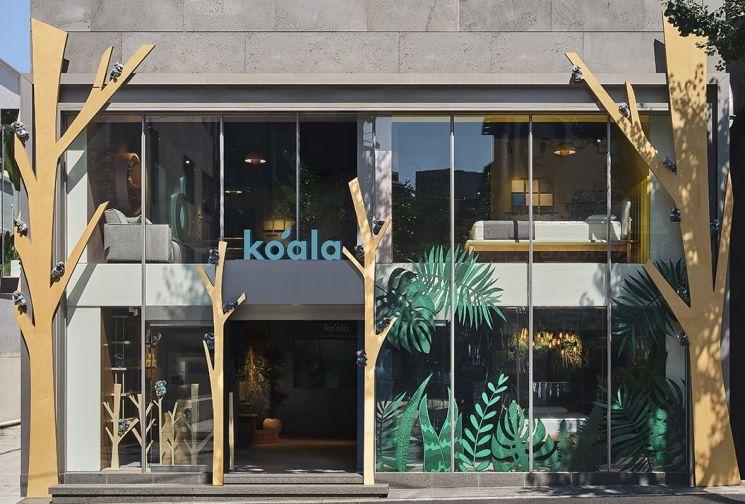 호주 라이프스타일 가구 브랜드 '코알라(Koala)'가 한국 진출 기념으로 서울 가로수길에 오픈한 쇼룸 전경. [사진제공=코알라코리아]