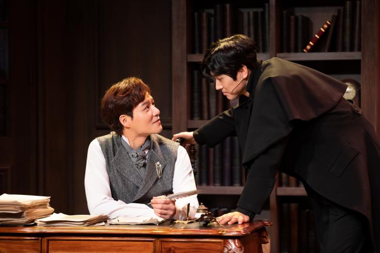 뮤지컬 '마지막 사건' 공연장면.(사진제공=한국관광공사)