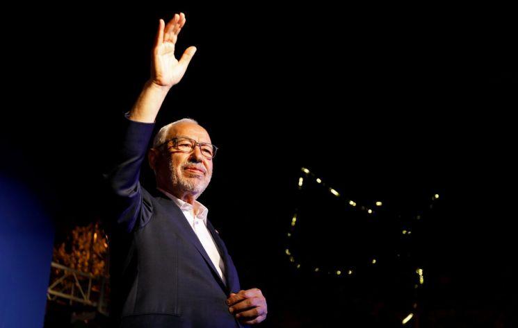 라체드 가누치 튀니지 국회의장 [이미지출처=로이터연합뉴스]
