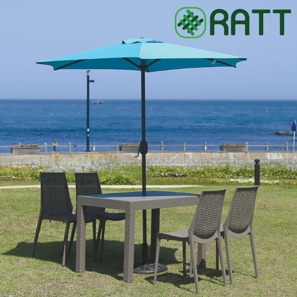 프리미엄 라탄 전문 브랜드 'RATT(라트)', 라탄 야외용 테이블 세트 'SR 시리즈' 출시