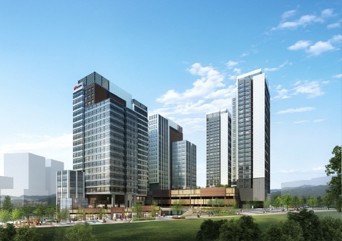 동탄2신도시 내 브랜드 상업시설 '힐스 에비뉴 동탄역 멀티플라이어'