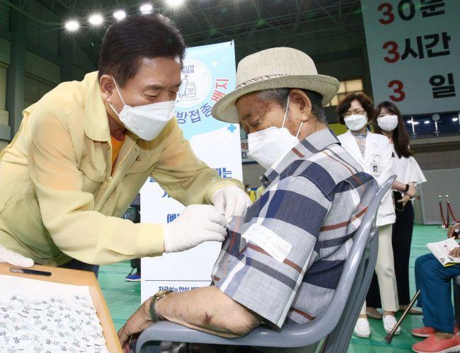 화순군, 50~59세 백신 미예약자 '예약 독려'
