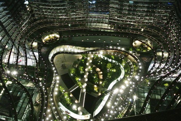 싱가포르 마리나사우스 복합개발 (출처=현대건설)