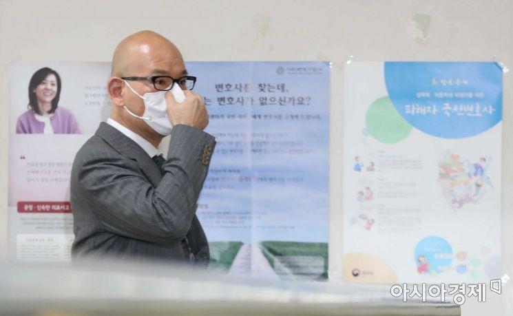 그룹 계열사를 동원해 개인회사를 부당하게 지원한 혐의로 기소된 이해욱 DL그룹 회장 /문호남 기자 munonam@
