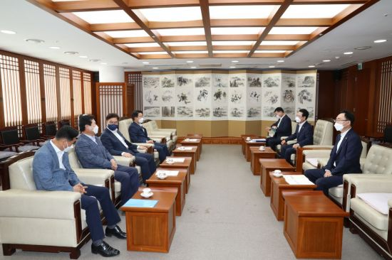 김영록 전남지사, COP28 유치·의대 설립 요청