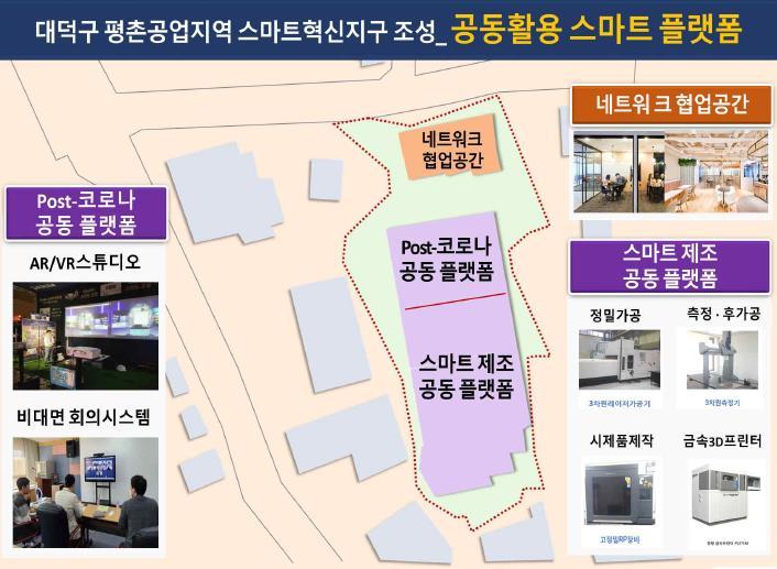 대전 대덕구 평촌공업지역 내 스마트혁신지구 사업[출처=중기벤처부]