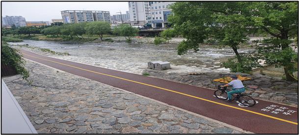 광주 서구 '광주천 자전거도로' 정비 완료