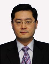 친강 중국 외교부 부부장
