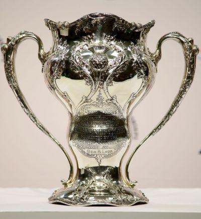 1904년 미국 세인트루이스올림픽 당시 골프 우승컵.