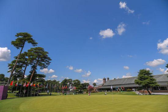 도쿄올림픽 골프 개최지 가스미가세키골프장은 '일본의 안양CC'로 볼 수 있는 명문 코스다. 사진제공=국제골프연맹