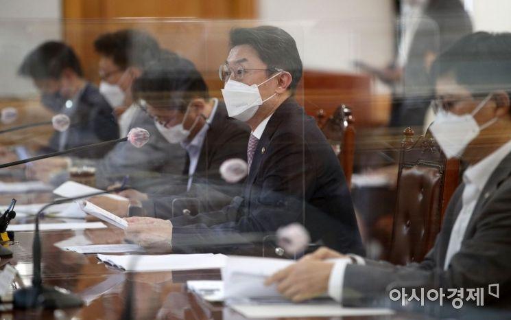 [포토] 모두 발언하는 이억원 차관