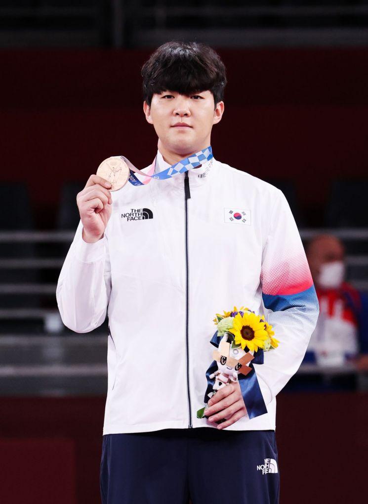 한국 태권도 선수 인교돈. [이미지출처=연합뉴스]