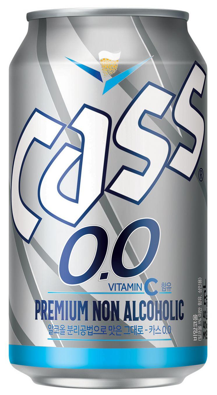 오비맥주 '카스 0.0', 온라인 누적 판매 200만 캔 돌파