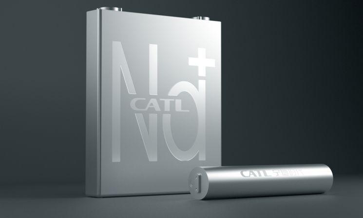 CATL 나트륨  이온 배터리(사진=글로벌 타임스 캡처)
