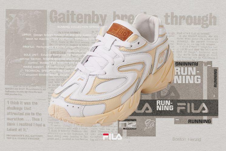 휠라 '헤리티지 슈즈' 6탄 7월의 신발 '버자드 2000 티어제로'. (사진제공=휠라)