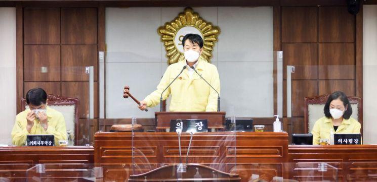 순천시의회, 제3회 추가경정 예산안 의결하고 임시회 폐회