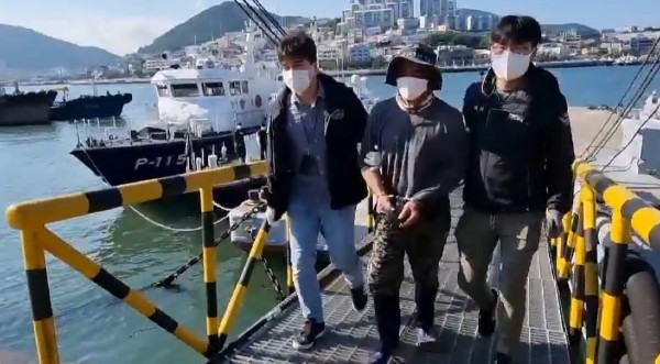 여수해경, 불법체류 베트남인 검거