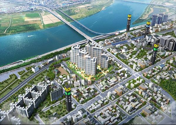 부산구포지역주택조합 '구포 반도유보라리버스카이' 조합원 모집