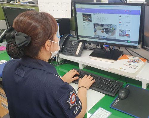 전남소방, 구급대원 전문성 향상 코로나 고려 '비대면' 교육 추진