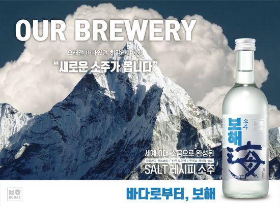 보해양조, 세계 3대 소금으로 쓴 맛 잡은 '보해소주' 출시