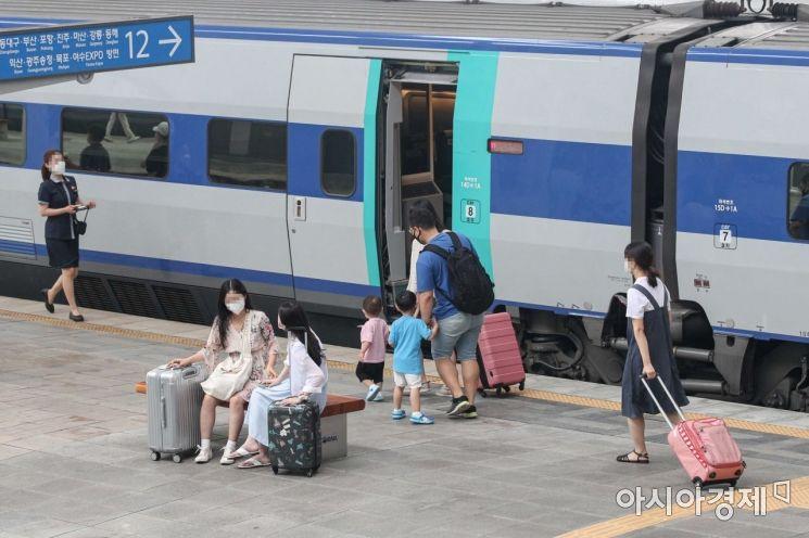 [포토]여행지로 향하는 시민들