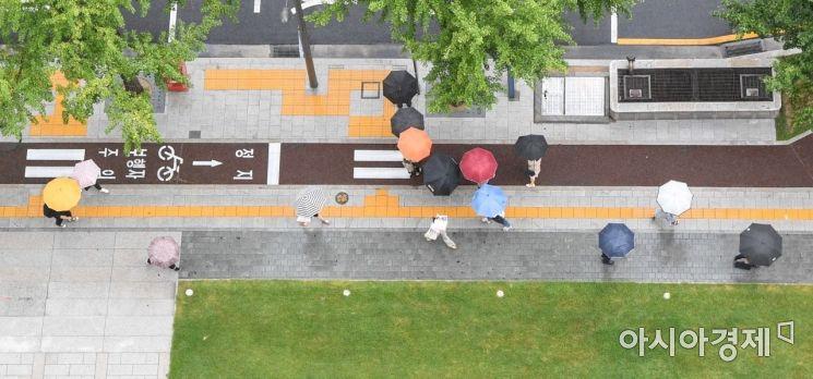 [포토]비내리는 서울