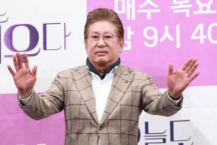 배우 김용건 씨.