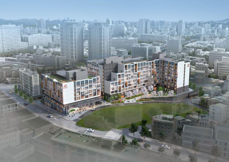 힐스테이트 남산 조감도 / 현대건설 제공.