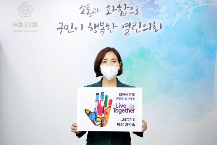 [포토]조영훈 중구의회 의장 '찾아가는 임시선별진료소' 직원 격려 방문