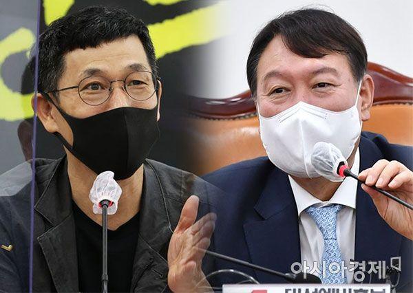 """진중권, 尹 '페미'발언에 """"지지율 뚝뚝 떨어져...선 넘었다"""""""
