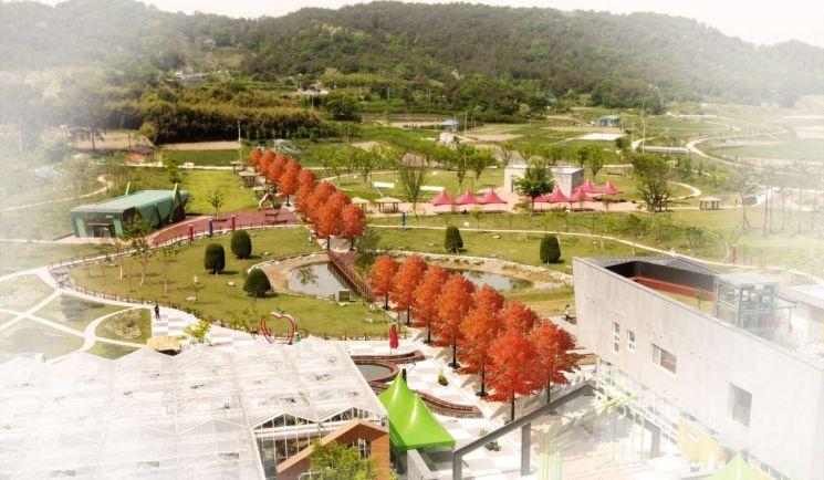 남구, 빛고을농촌테마공원 '사계절 정원'으로 조성