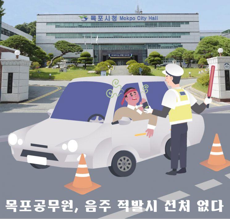 '이 시국에 음주운전?'…목포시, 해당 공무원 즉각 직위해제