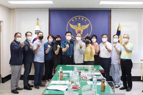 신규 보안자문위원 위촉식 행사를 개최했다. (사진=무안경찰서 제공)