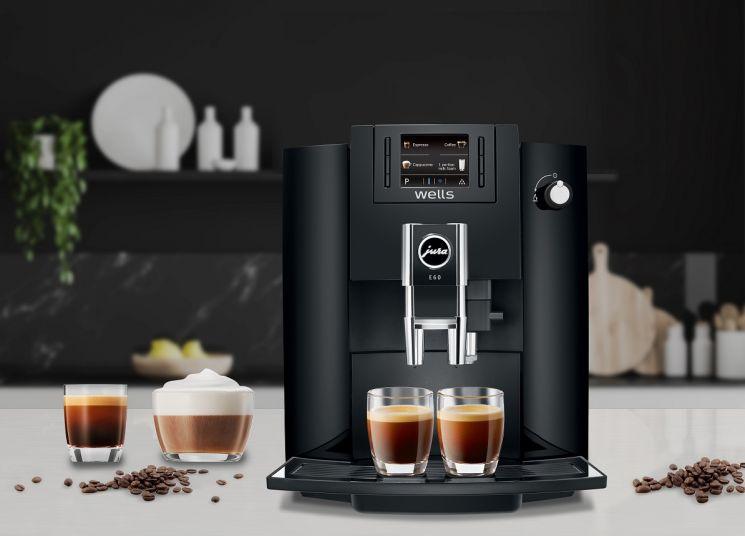 교원 웰스는 프리미엄 전자동 커피머신 '웰스 유라(Jura) 커피머신'을 선보인다고 5일 밝혔다. 사진제공 = 웰스