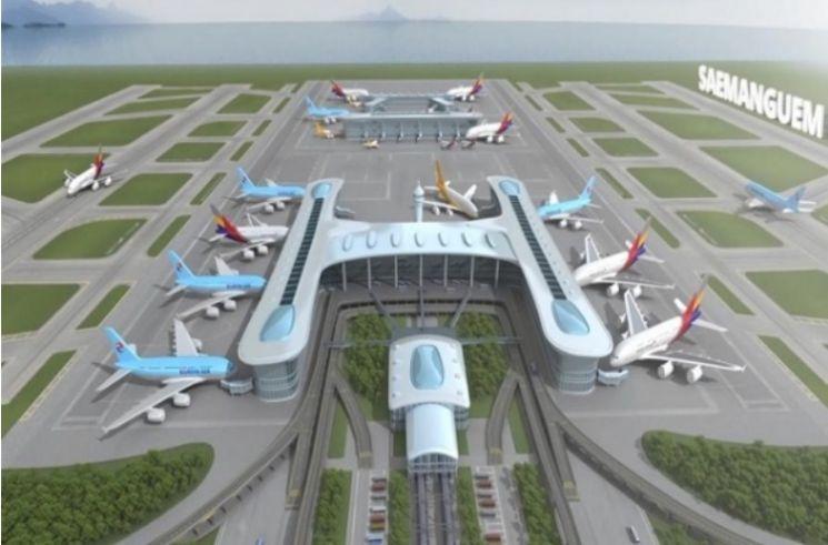 새만금 국제공항 조감도(제공=전북도청)