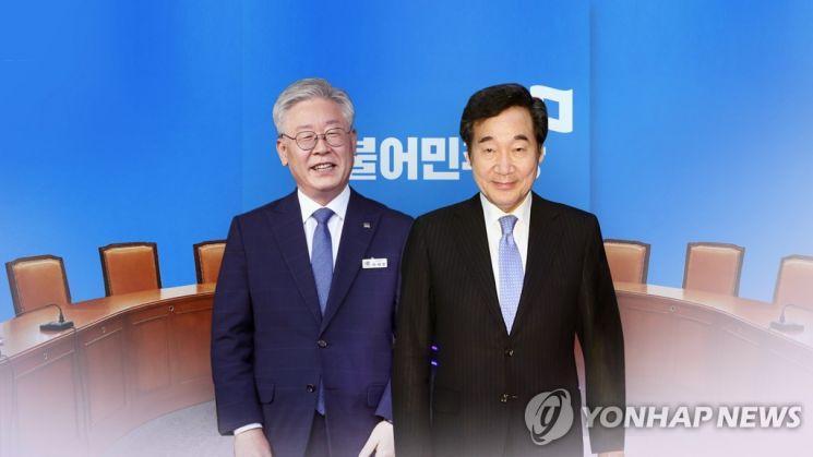 더불어민주당 대선주자 이재명 경기도지사와 이낙연 전 대표(왼쪽부터). /사진=연합뉴스