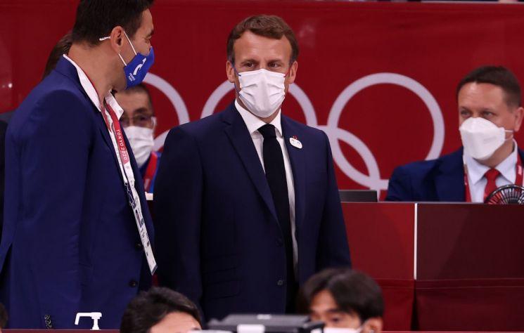 프랑스 에마뉘엘 마크롱 대통령 [이미지출처=연합뉴스]