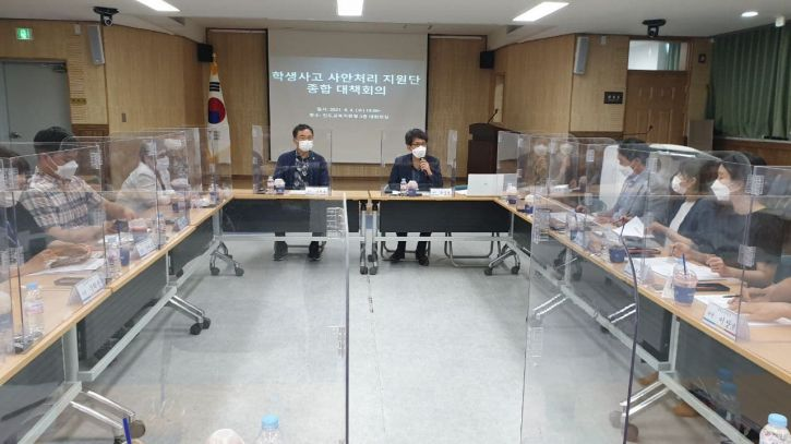 진도교육지원청, 중학생 2명 추락사 '종합대책본부' 구성