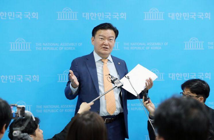 민경욱 전 미래통합당(현 국민의힘) 의원. [이미지출처=연합뉴스]