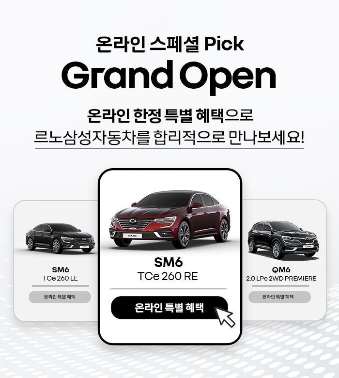 르노삼성, '온라인 스페셜 픽' 캠페인…30만원 추가혜택 제공