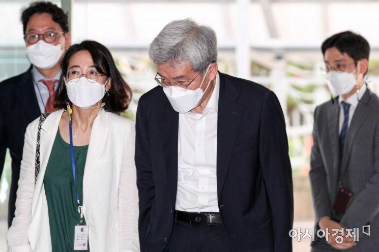 [포토]인사하는 고승범 금융위원장 후보자