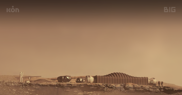 미 NASA가 텍사스주 휴스턴 소재 존슨우주센터에 마련한 '화성 모래언덕 알파'.