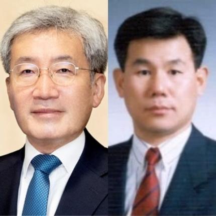 (왼쪽부터) 고승범 금융위원장 내정자, 정은보 금융감독원장 내정자.