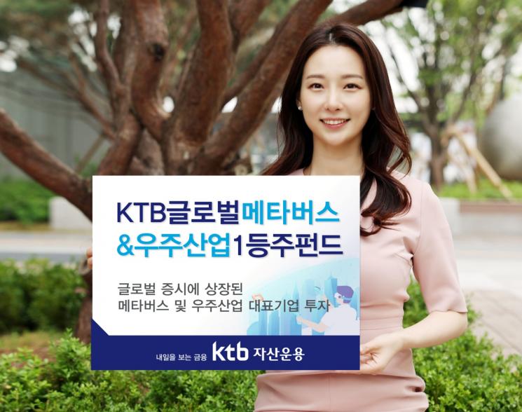 """""""메타버스·우주산업 투자하세요""""…KTB자산운용 새 펀드 출시"""