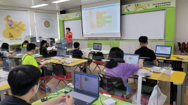 전남도교육청은 오는 10월 말까지  '창의융합 인재양성 프로젝트 학습'을 운영한다. 사진=전남도교육청 제공